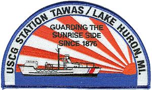 Click to visit Coast Guard patches website.
