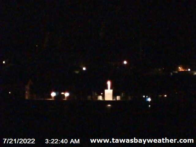 Click for the Tawas Bay Webcam