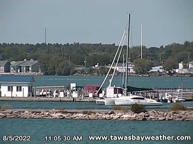 Click to visit the Tawas Bay Webcam and Weather Station